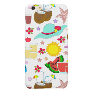 Summer Vacation Glossy iPhone 6 Plus Case