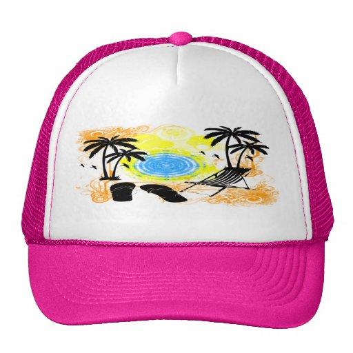 Summer Vacation Hat