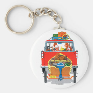 Summer Vacation Keychain