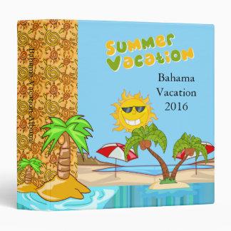 Summer Vacation Photo Album Binder