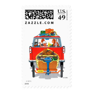 Summer Vacation Stamp