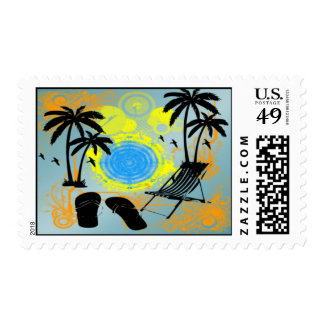 Summer Vacation Postage