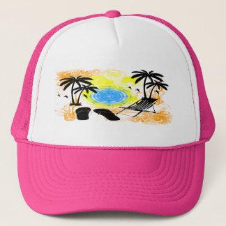 Summer Vacation Trucker Hat