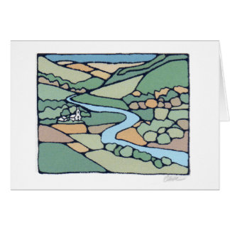 Summer Valley note card