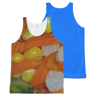 summer vegetables All-Over print tank top