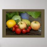 Summer Vegetables Print