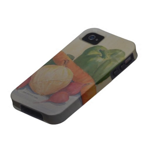 Summer Veggies iPhone 4 Covers