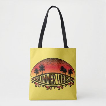 Beach Themed Summer Vibes - Endless Sunsets Tote Bag