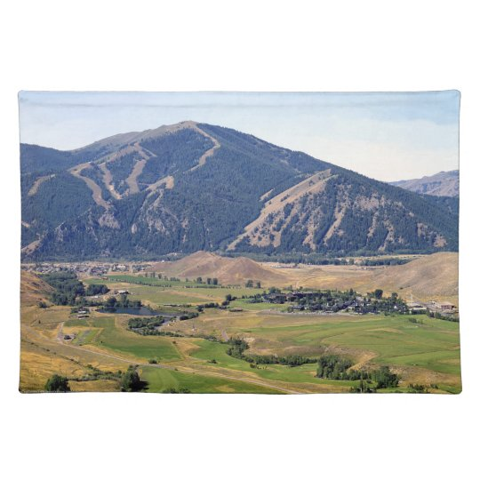 Summer View of the Ketchum/ Sun Valley Area Placemat