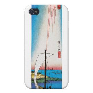 Summer View of Tsukudajima Island, Japan iPhone 4 Covers