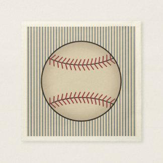 Summer Vintage Baseball Party Napkins