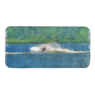 Summer Water-skiier and Lake iPhone SE/5/5s/5c Pouch