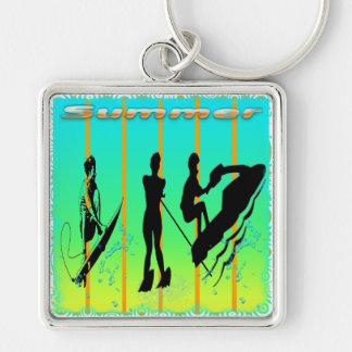 Summer - Water Sports Keychain