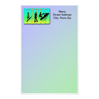 Summer - Water Sports Stationery