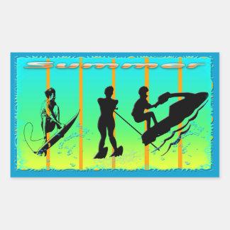 Summer - Water Sports Sticker