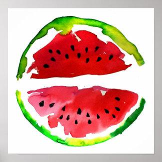 Watermelon Posters | Zazzle