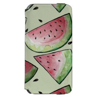 Summer Watermelon Pattern iPhone 6/6s Wallet Case