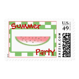 Summer Watermelon Stamp