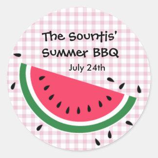Summer Watermelon Sticker