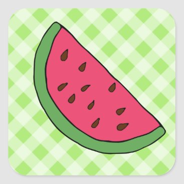 Professional Business Summer Watermelon Stickers