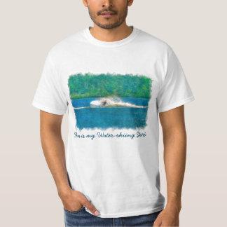 Summer Waterskiier and Lake T-Shirt
