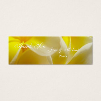 Summer Wedding Mini Business Card