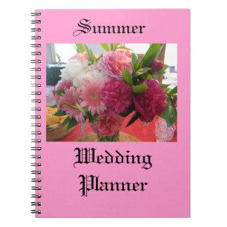 Summer Wedding Planner Notebook