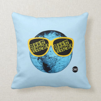 Summer Weekend - promo graphic Throw Pillow