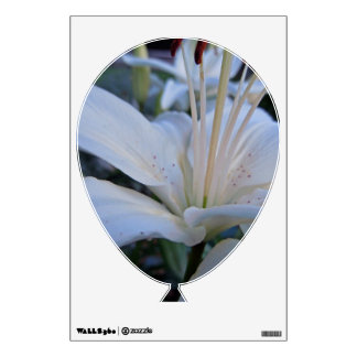 Summer White Lily Wall Sticker