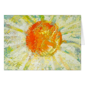 """Summer Wild Daisy"" by Chris Rice Note Cards"
