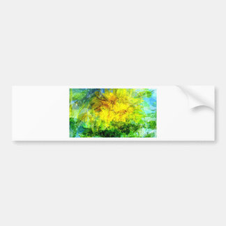 Summer wind gust bumper sticker