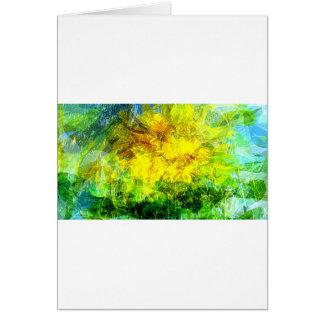 Summer wind gust card