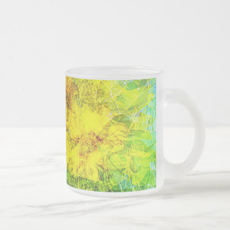 Summer wind gust Frosted 10 oz Frosted Glass Mug
