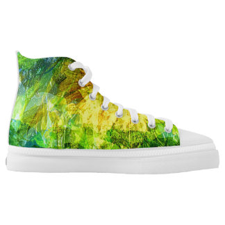 Summer wind gust printed shoes