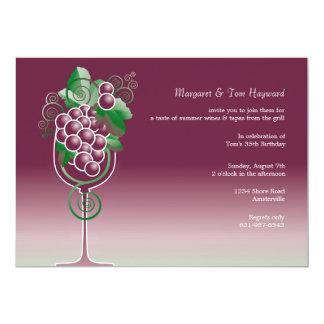 "Summer Wine Invitation 5"" X 7"" Invitation Card"