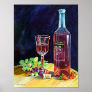 Summer Wine Wall Print