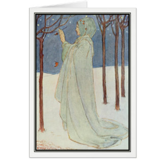 Summer (Winter) by Florence Harrison Greeting Card