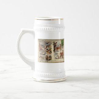 Summer & Winter Wildlife Stein Mug