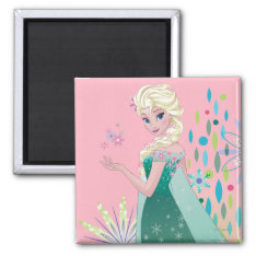 Summer Wish 2 Inch Square Magnet at Zazzle