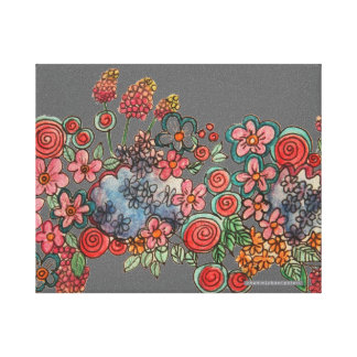 Summer with Catherine Wrapped Canvas Gallery Wrapped Canvas
