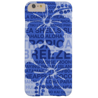 Summer Words Hawaiian Hibiscus Barely There iPhone 6 Plus Case