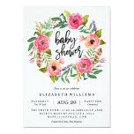 Summer Wreath Baby Shower Invitation