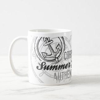 Summer Yacht Club Vintage Nautical Sailor Mugs