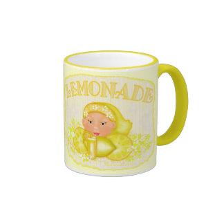 Summer Yellow Lemonade Mug