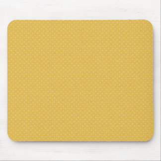 SUMMER YELLOW LITTLE POLKA DOT PATTERN WALLPAPERS MOUSE PAD