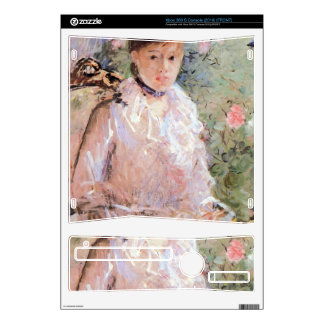 Summer (Young woman at the window) by Morisot Decals For Xbox 360 S