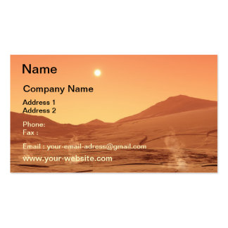 Summerday from Mars Business Card