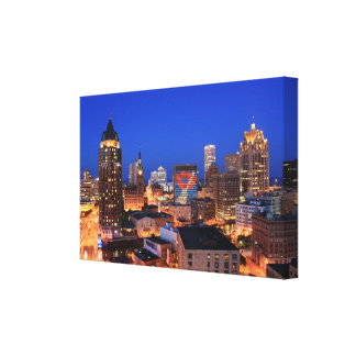 Summerfest Eve Stretched Canvas Prints