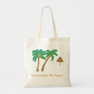 Summering In The Tropics Tote Bags