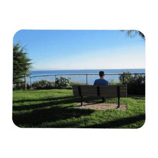 Summerland: Man Contemplates Ocean Magnet